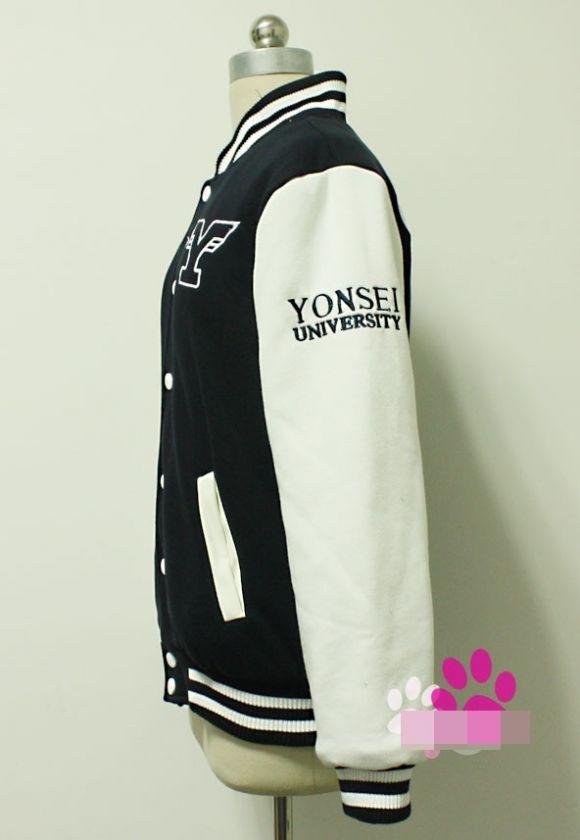 Super Junior Suju Yonsei University Varsity Baseball Uniform Jacket