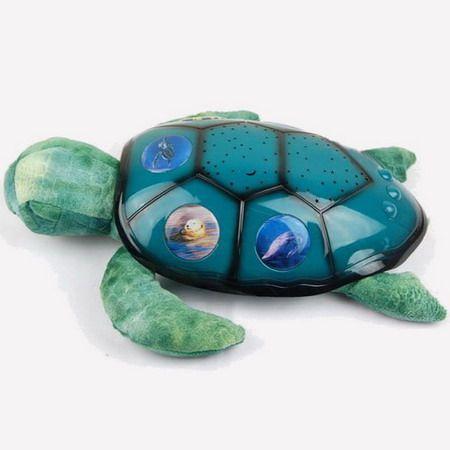 Twilight Sea Turtle Stars Projector Night Light Kid Toy