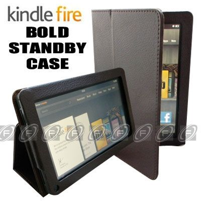 For Kindle Fire PU Leather Case Cover/Protector/Car Charger/USB Cable