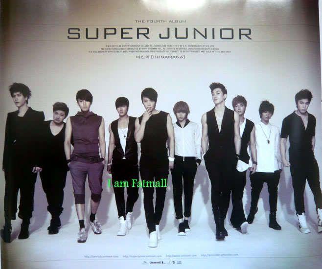 2x SUPER JUNIOR KPOP Authentic POSTER Korean official