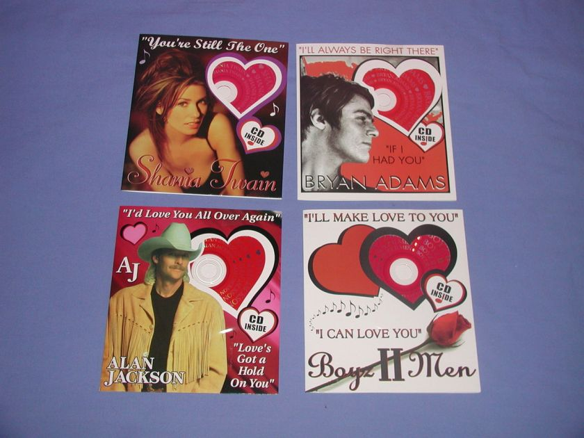 ANNIVERSARY/BIRTHDAY/VALENTINES DAY LOVE/ROMANTIC MUSIC CD GREETING